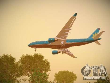 Airbus A330-200 Vietnam Airlines para o motor de GTA San Andreas