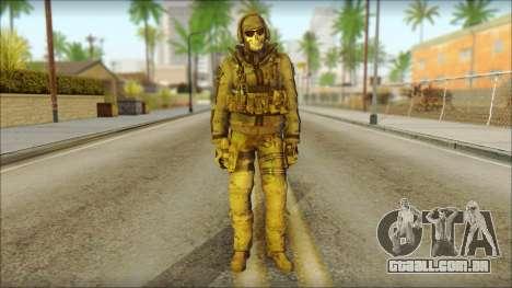 Latino Resurrection Skin from COD 5 para GTA San Andreas