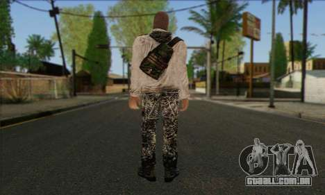 Arctic Avenger (Tactical Intervention) v2 para GTA San Andreas segunda tela