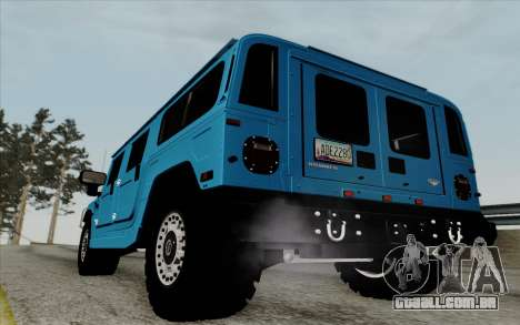 Hummer H1 Alpha 2006 Road version para GTA San Andreas vista direita