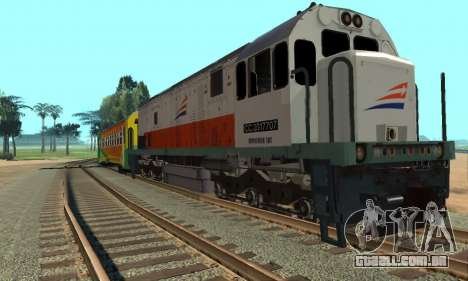 GE U18C CC 201 Indonesian Locomotive para GTA San Andreas