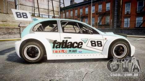 Zenden Cup Fat Lace para GTA 4 esquerda vista