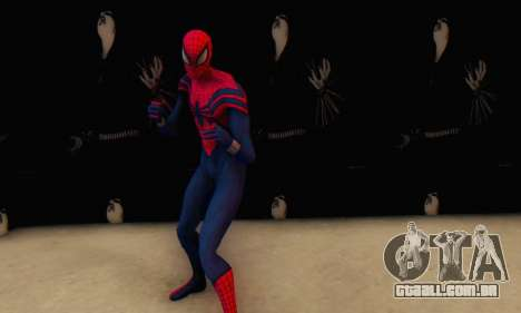 Skin The Amazing Spider Man 2 - Suit Ben Reily para GTA San Andreas