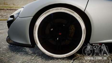 McLaren 650S Spider 2014 [EPM] KUMHO para GTA 4 vista de volta