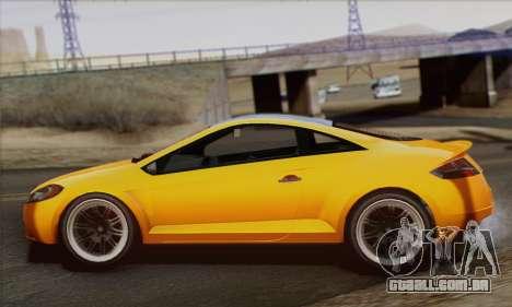 Maibatsu Penumbra 1.0 (HQLM) para GTA San Andreas esquerda vista