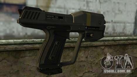 Halo Reach M6G Magnum para GTA San Andreas segunda tela