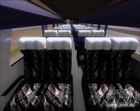 Marcopolo Paradiso G7 1050 Yellow Bus Line A-2 para GTA San Andreas vista interior