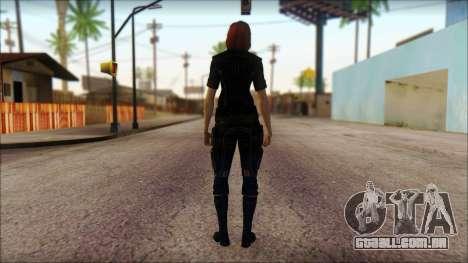 Mass Effect Anna Skin v4 para GTA San Andreas segunda tela