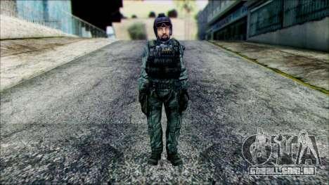 Lutador (PLA) v4 para GTA San Andreas