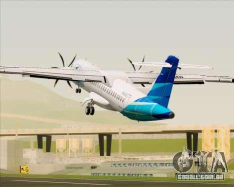 ATR 72-500 Garuda Indonesia Explore para o motor de GTA San Andreas