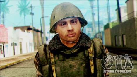 Soldado SA (WIC) para GTA San Andreas terceira tela