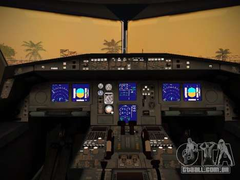 Airbus A340-600 Singapore Airlines para GTA San Andreas