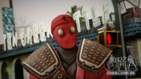 Foot Soldier Elite v1 para GTA San Andreas terceira tela