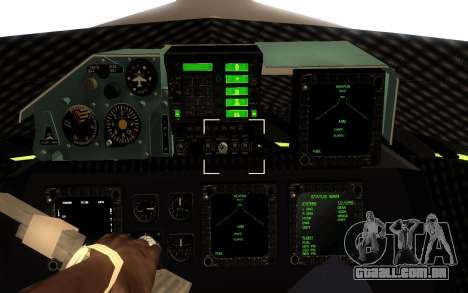 GTA 5 UFO para GTA San Andreas esquerda vista