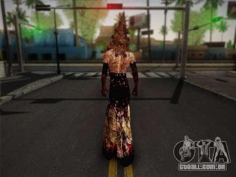 Pyramid Head From Silent Hill: Homecoming para GTA San Andreas segunda tela