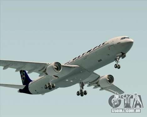 Airbus A330-300 Olympic Airlines para GTA San Andreas vista traseira