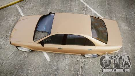 Schafter AMG para GTA 4 vista direita