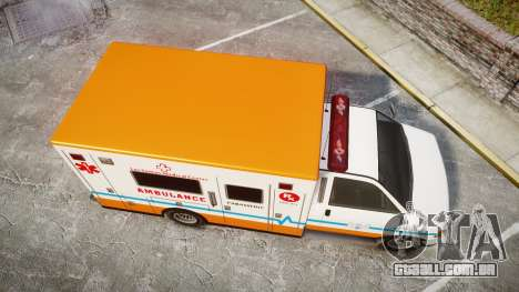 GTA V Brute Ambulance [ELS] para GTA 4 vista direita
