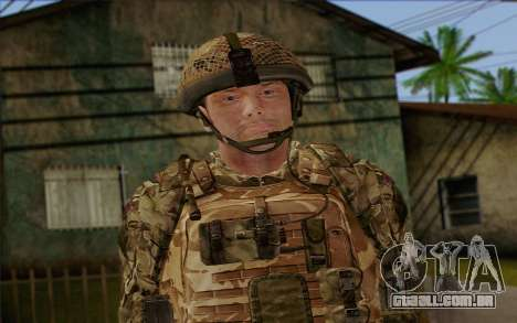 Soldados britânicos (ArmA II: BAF) v3 para GTA San Andreas terceira tela