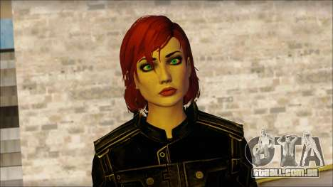 Mass Effect Anna Skin v4 para GTA San Andreas terceira tela