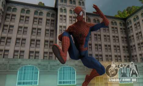 The Amazing Spider Man 2 Oficial Skin para GTA San Andreas segunda tela