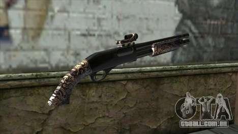 PurpleX Shotgun para GTA San Andreas segunda tela