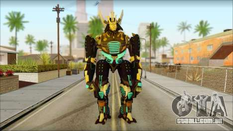 Дрифт (Transformers: Rise of the Dark Faísca) para GTA San Andreas