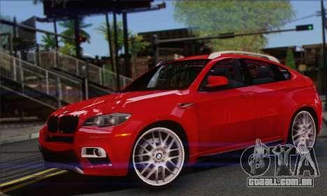 BMW X6M 2013 v3.0 para GTA San Andreas
