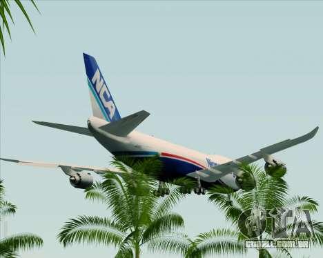 Boeing 747-8 Cargo Nippon Cargo Airlines para GTA San Andreas