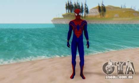 Skin The Amazing Spider Man 2 - Ben Reily para GTA San Andreas segunda tela