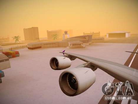 Airbus A380-800 Thai Airways International para o motor de GTA San Andreas