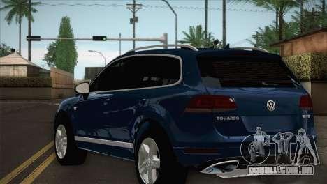 Volkswagen Touareg 2012 para GTA San Andreas esquerda vista