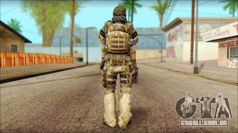 Veterano (M) v1 para GTA San Andreas segunda tela