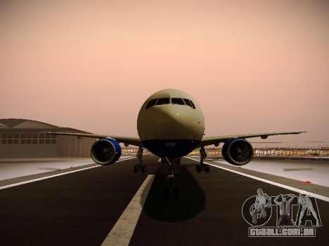 Boeing 777-212ER Transaero Airlines para as rodas de GTA San Andreas