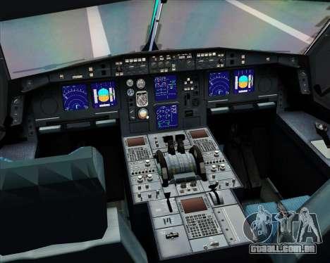 Airbus A330-300 Aer Lingus para GTA San Andreas interior