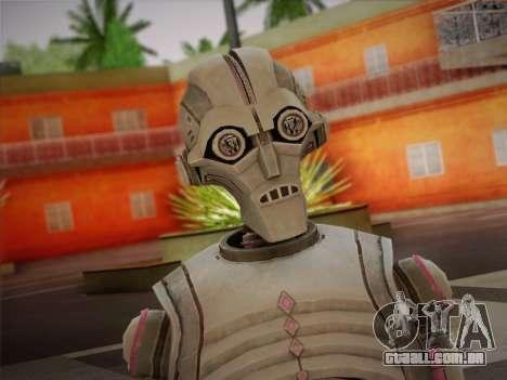 Kraang Robot para GTA San Andreas terceira tela