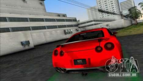 Nissan GT-R Prototype para GTA Vice City deixou vista