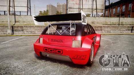 Zenden Cup Ogio para GTA 4 traseira esquerda vista