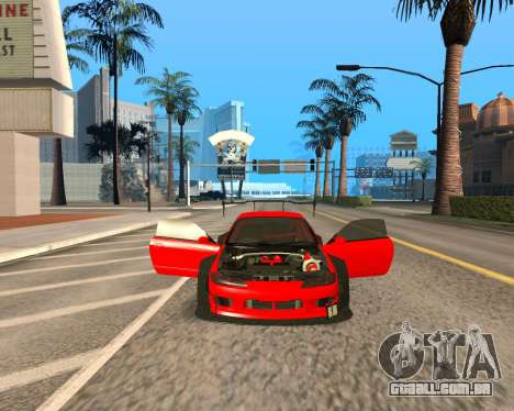 Slivia Red Planet para GTA San Andreas vista traseira