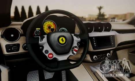 Ferrari FF 2012 para GTA San Andreas vista direita