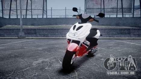Yamaha Aerox R para GTA 4