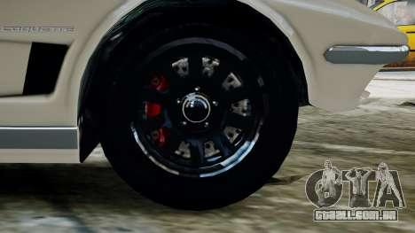 GTA 5 Coquette Classic para GTA 4 traseira esquerda vista