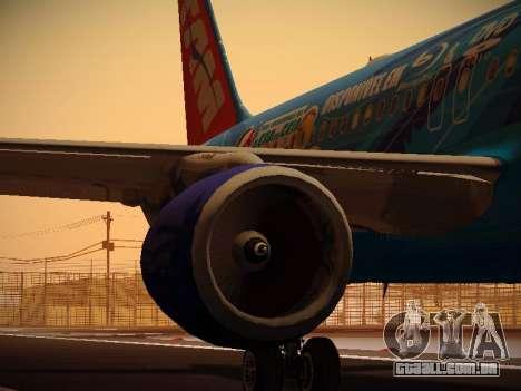 Airbus A320-214 TAM Airlines RIO para o motor de GTA San Andreas