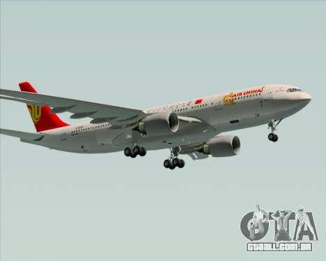 Airbus A330-200 Air China para o motor de GTA San Andreas