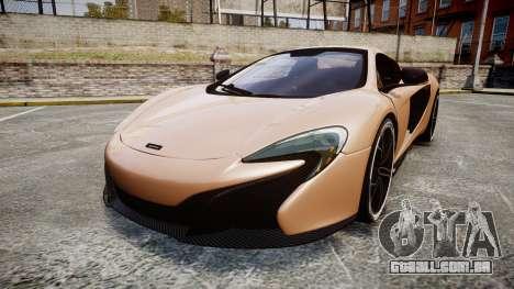 McLaren 650S Spider 2014 [EPM] Pirelli v1 para GTA 4