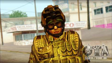 Soldados da UE (AVA) v3 para GTA San Andreas terceira tela