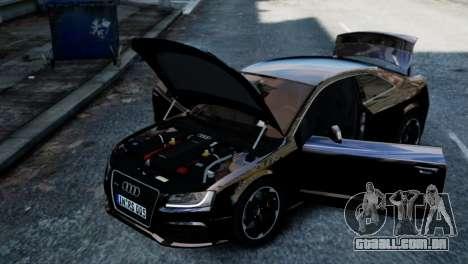 Audi RS5 2011 para GTA 4 vista direita