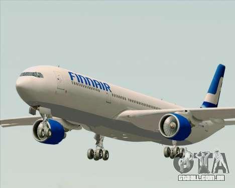 Airbus A330-300 Finnair (Old Livery) para GTA San Andreas