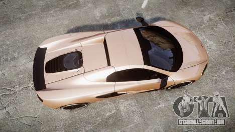 McLaren 650S Spider 2014 [EPM] Pirelli v1 para GTA 4 vista direita