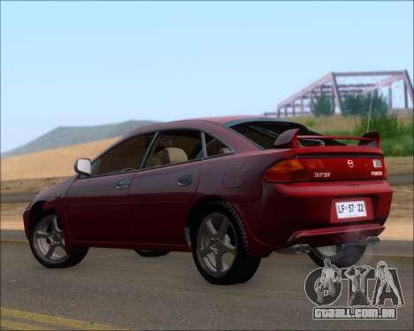 Mazda 323F 1995 para GTA San Andreas vista direita